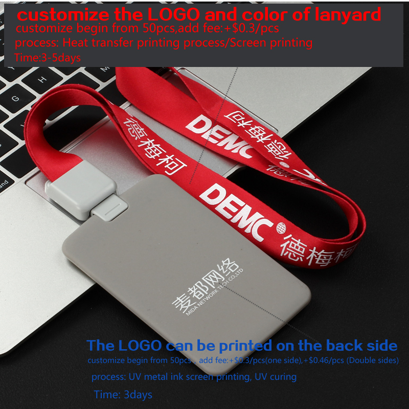 Hot DealsDezhi-Retractable-Lanyard Badge-Holder Silica-Gel-Material Credit-Card with Bank