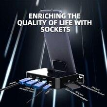 FDBRO 7-в-1 2 USB3.0 Тип с разъемами типа C и HDMI док-станция для Мощность адаптер SD TF карты зарядная станция концентратор для huawei P20 Pro для samsung S8 S9 LG G5