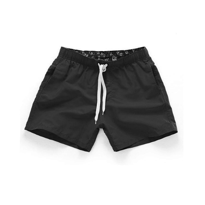 Men Quick Dry Swimming   Shorts   Swimwear Men Swimsuit Swim Trunks Bathing Beach   Shorts   With Pocket Wear Surf Briefs   Board     Shorts