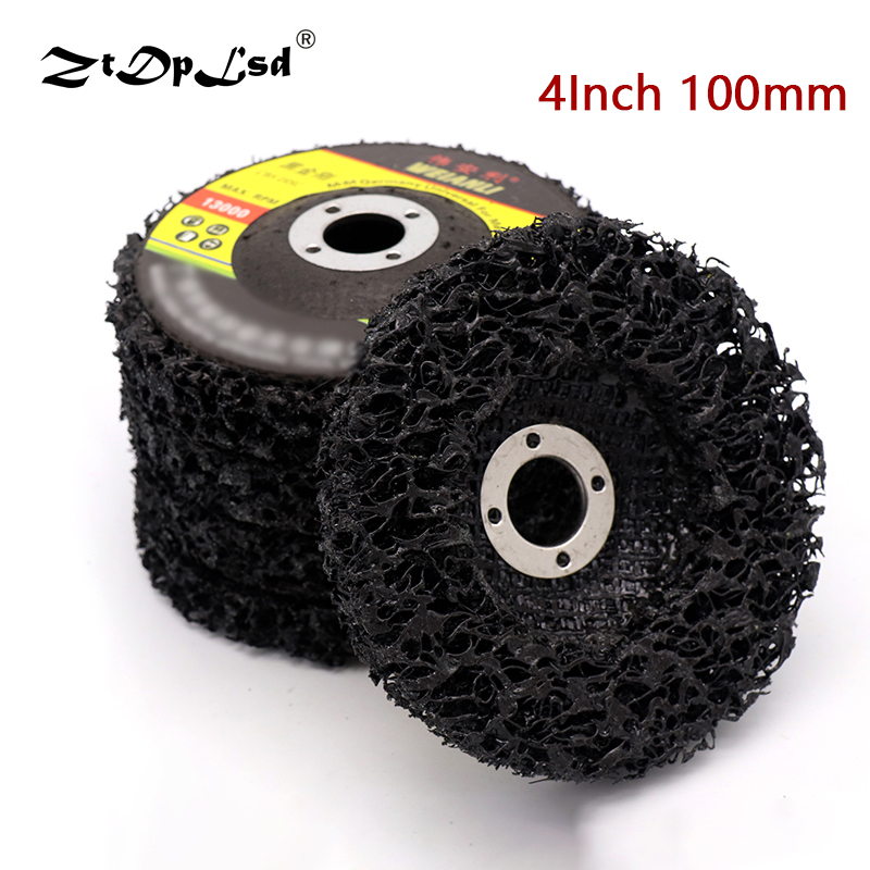 1Pcs Disc Abrasive Wheel Paint Rust Removal Clean For Angle Grinder Black Diamond Grinding Emery Milling Circle Stone Sharpener(China)
