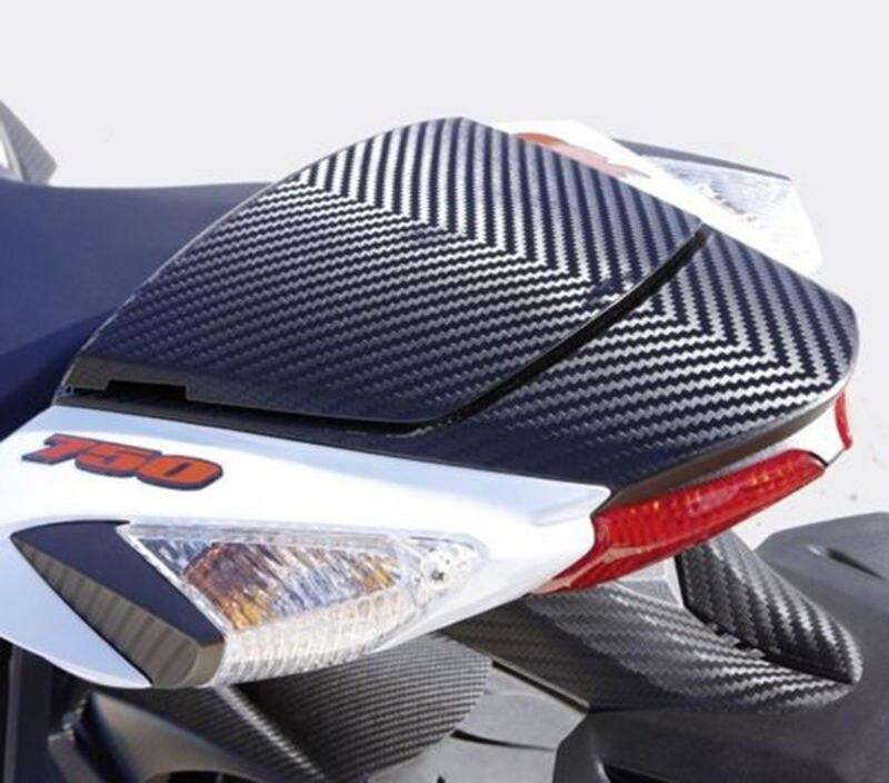 ФОТО Black Carbon Fiber Rear Seat Cowl Cover For Suzuki GSXR600 GSXR750 GSX-R 600 750 2011-2016  11 12 13 14 15 16 GSXR 600/750