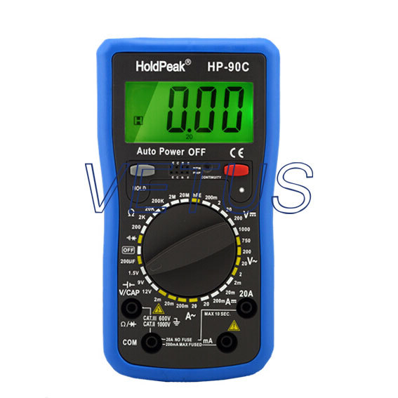 High quality Manual Range Digital Multimeter digital AVO meter HP-90C HP90C hp 90b hp90b auto range digital multimeter digital avo meter