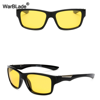 WarBLade New Yellow Polarized Sunglasses Men's Night Vision Driving Sun Glasses Anti-Glare Car Drivers Goggles Eyewear For Man