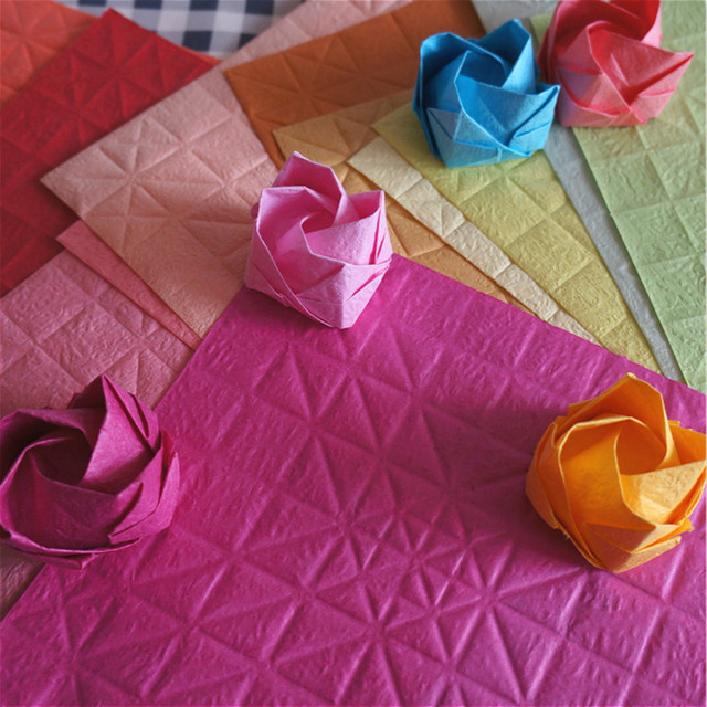 Aliexpress Buy 20pcs Origami Paper Kawasaki Rose Indentation