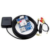 SIM808 Module GSM GPRS GPS Development Board IPX SMA with GPS Antenna Raspberry Pi Support 2G 3G 4G SIM Card