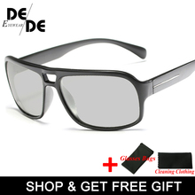 Hot Sale Photochromic Sunglasses Men Polarized Sun Glasses Male HD Driving Goggles UV400 Chameleon Day Night
