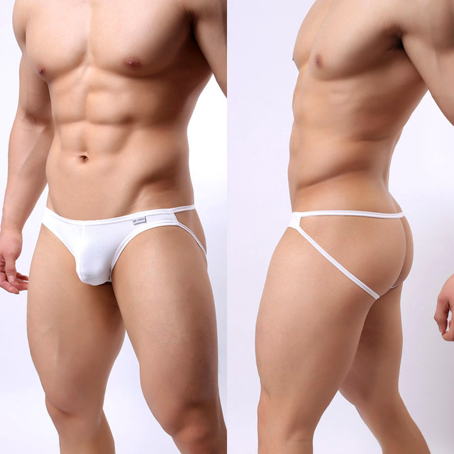 Sexy Underwear Men  Mesh Thongs Backless String Homme Nylon Low Waist Gay Men Clothes Men Lingerie Lenceria Sexy Hombre