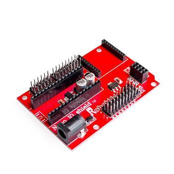 Nano 328p io placa de expansão do sensor sem fio para xbee e nrf24l01 soquete para arduin