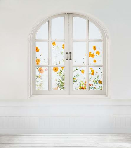 Photophone white wall photo background yellow flowers photography backdrops for photo studio camera fotografia props CM-0832 photocall wedding photo background white building flowers photography backdrops for photo studio fotografia backgrounds cm 6591