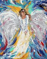 Color Angel Painting By Numbers Paint By Number Coloring By Numbers For Home Decoration Picture Oil