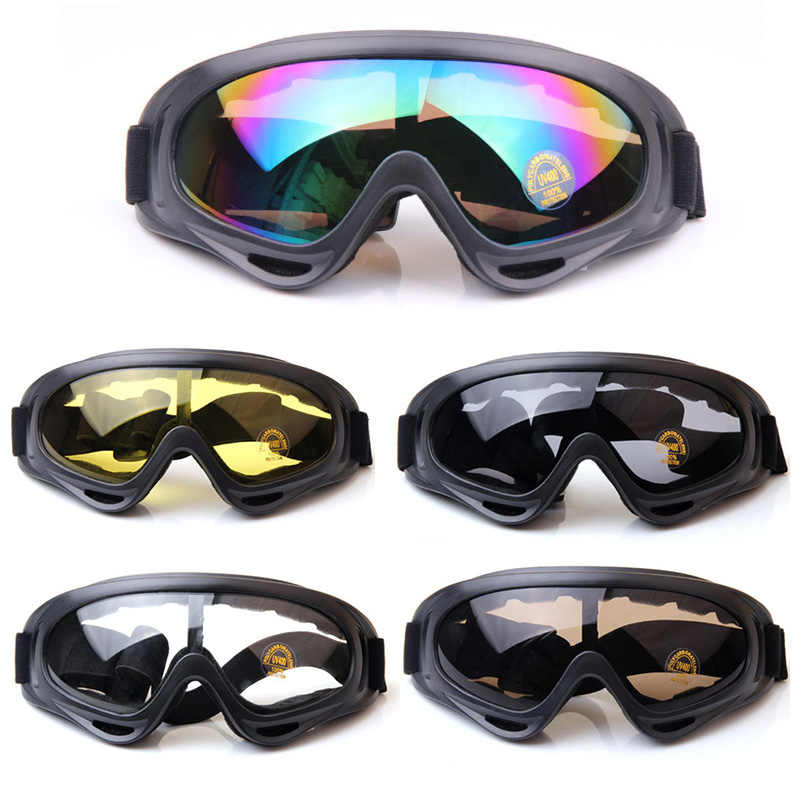 7cd8b58e24 ... Motorcycle Accessories Bike ATV Motocross UVProtection Ski Snowboard Off -road Goggles FITS OVER RX GLASSES ...