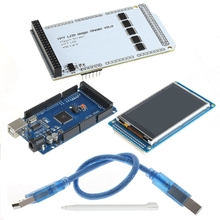 OOTDTY 3.2 «TFT LCD Сенсорный Экран Funduino Мега 2560 ATmega2560-16AUTouch для Arduino