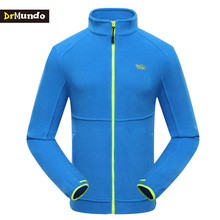 DrMundo Men's Outdoor Jacket Sports Hiking Clothes Fleece running Jacket thermal warm windproof climbing campping jacket brand