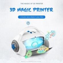 3D волшебный игрушечный принтер с 9 формочками, Рисовальщик, лучший подарок для детей, подарок на день рождения, игрушки для рисования для детей