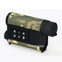 Pro Night Vision Monocular Laser Rangefinder 4X Infrared IR Hunting Handheld 500m Distance Meter Telescope Speed Measurement