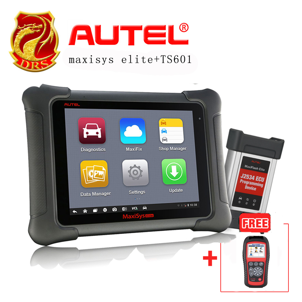 AUTEL MaxiSys Elite Update From MS908P PRO Free Update On Autel Website + Gift MaxiTPMS TS601 TPMS