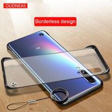OUDNEAS Transparent Hard for Xiaomi Mi 9 Case Ultra-thin Borderless design mi se Matte Anti-knock case