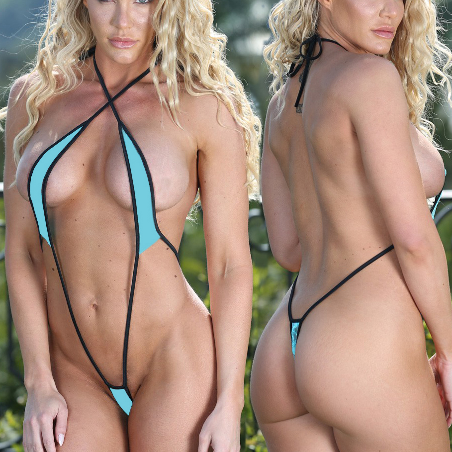 2018 Exotic Teeny Micro Bikini Set Sunbath Beach Swim Lingeries Swimwear Female Sex Extreme Cossies Women Sexy G-String Swimsuit