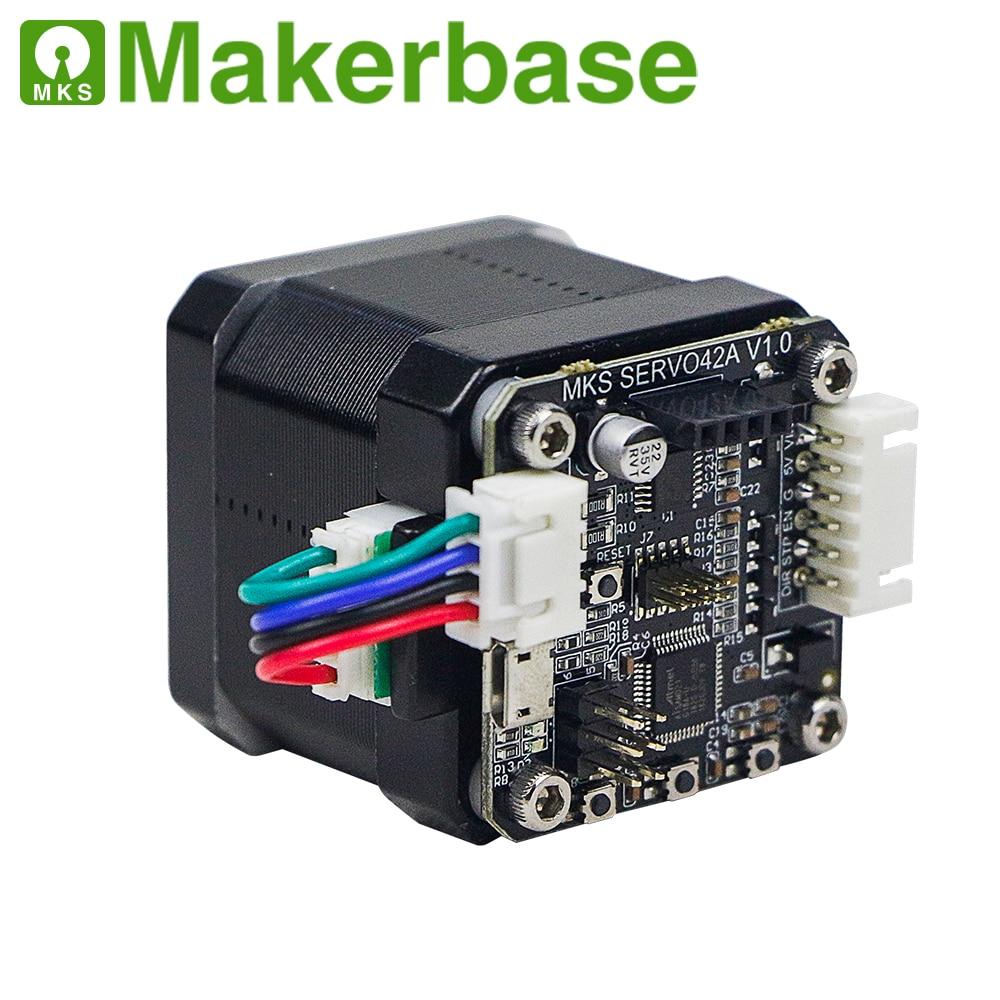 3D printing  closed loop stepper motor NEMA17 MKS SERVO42  developed by Makerbase that prevents losing steps3D printing  closed loop stepper motor NEMA17 MKS SERVO42  developed by Makerbase that prevents losing steps