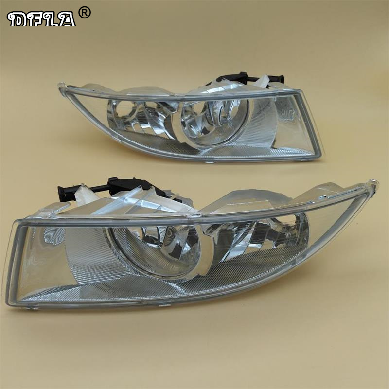 Car Light For Skoda Fabia 2 MK2 Facelift 2011 2012 2013 2014 2015 Car styling Front Halogen Fog Light Fog Light