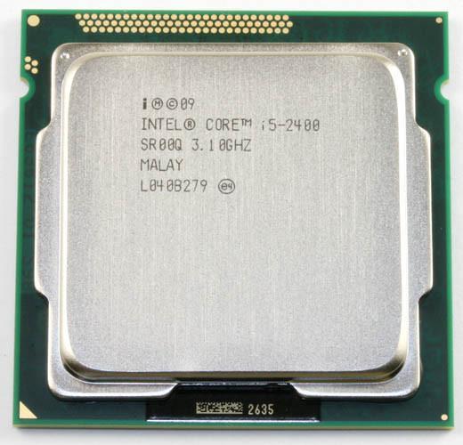 Оригинальный Intel i5 2400 четырехъядерный процессор 3.1 ГГц LGA 1155 tdp: 95 Вт 6 МБ Кэш i5-2400 Desktop Процессор