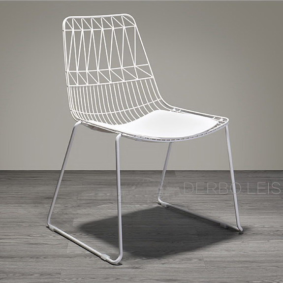 nice computer chairs rv couches and classic modern design loft metal steel wire chair with pad fashion popular padded dining release leisure 1pc