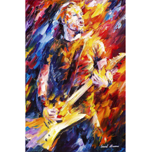 Hand Painted Landscape Abstract James Hetfield Palette Knife Modern Oil Painting Canvas Art Living Room hallway Artwork Fine Art
