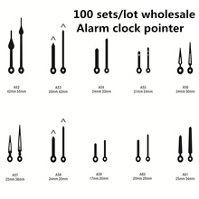 где купить 100 sets/lot Alarm Clock hand Accessories Metal Needle Pointer Minute/Hour Hand Set DIY Alarm Clock pointer Home Decor по лучшей цене