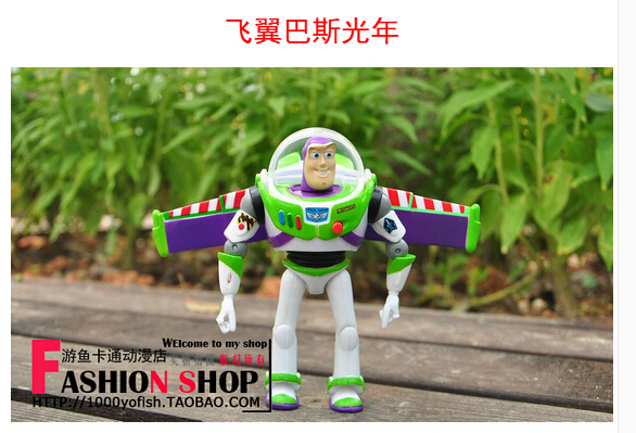 15 cm Toy Story 3 buzz lightyear toys Western cartoon action figures brinquedos toys for children free shipping original toy story 3 buzz lightyear robot light voice elastic wings 30cm action music anime figure kids toys for children p2