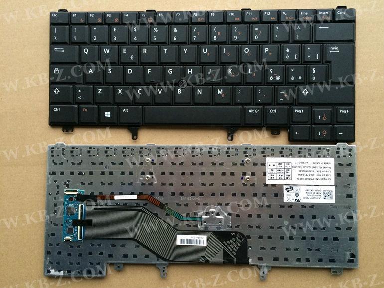 IT Italian keyboard For DELL E6420 E5420 E5430 E6220 E6320 E6330 E6430 with point stick PK130FN8E14 SN7122