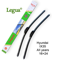 Legua Car Windscreen Wiper Blade For Hyundai IX35 All Years 16 24 Car Wiper Rubber Soft