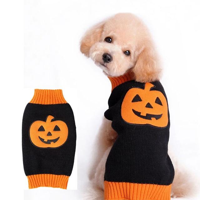Lustige Halloween hund kostüm gestrickte häkeln großen hund pullover ...