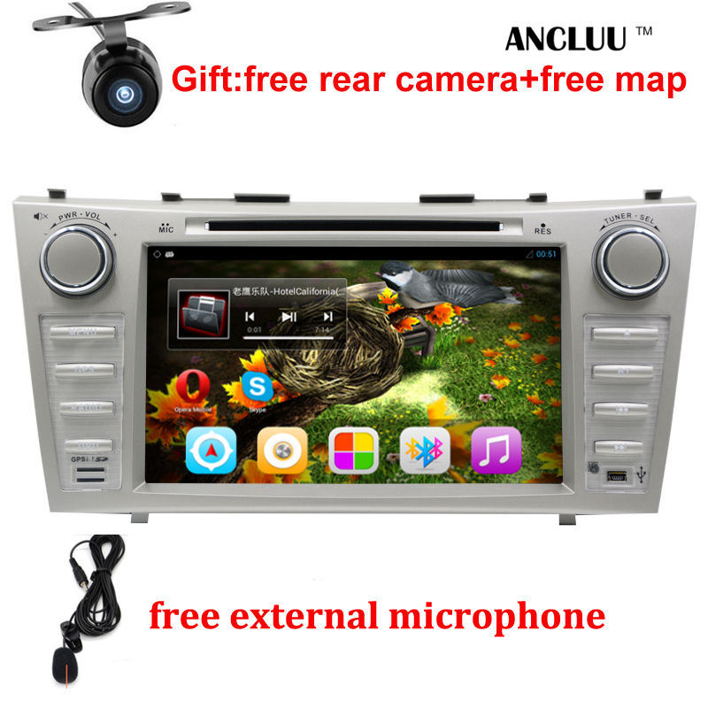 1024*600 2 Din Quad Core 8&#8243; Android 6.0 <font><b>Car</b></font> DVD GPS Navigation For Toyota Camry 2007 2008 2009 2010 Head Unit <font><b>Car</b></font> Stereo radio