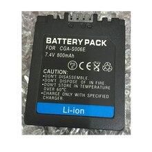 Pacote De Baterias De Lítio CGA S006 S006E CGR S006E DMW BMA7 Bateria
