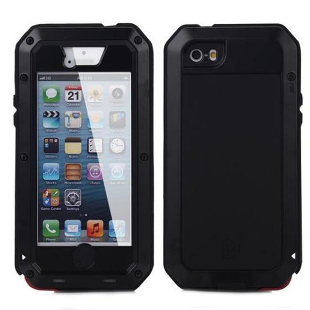 Agora lunat takt é três seguintes a partir de 360 para apple iphone 5s se casos de telefone case gota à prova de poeira à prova d' água
