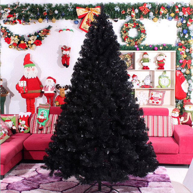 30m 300cm black christmas tree decorations christmas gifts christmas package christmas decorations - Black Christmas Tree Decorations