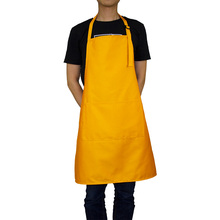 2019 Korean Aprons for Woman Waitressing Apron Pockets Adjustable Neck with 2 10 Color Shave apron funny