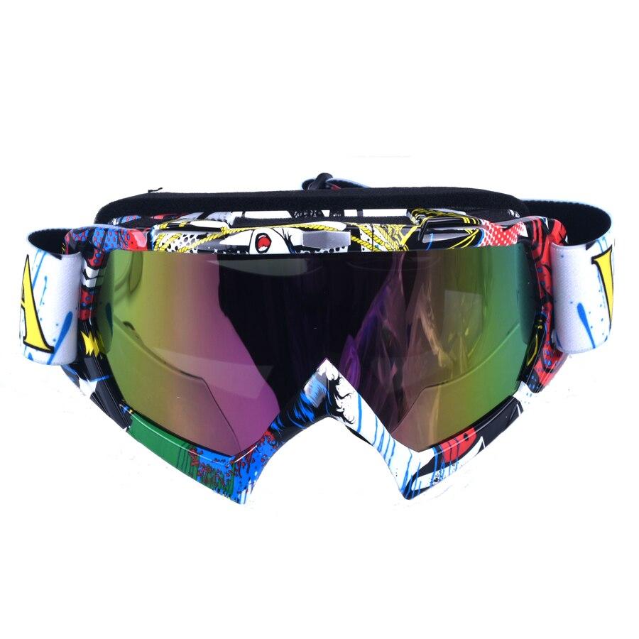 Катание на лыжах мотокросс очки Велосипеды глаз ware MX Off road шлемы очки Спорт Gafas для мотоцикла