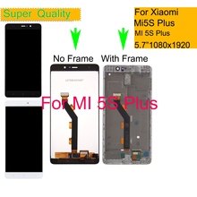 ORIGINAL For Xiaomi Mi 5S Mi5S Plus LCD Display Touch Screen Digitizer Panel Pantalla monitor LCD Assembly Complete With Frame new and original mi lcd panel
