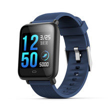 Q9 1.3 inch IPS color screen multi-sports mode smart watch waterproof heart rate blood pressure sleep detection FOR: iphone