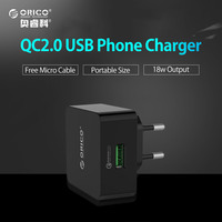 ORICO QCK 1U 1 Port For Quick Charge QC 2 0 Desktop USB Wall Charger With