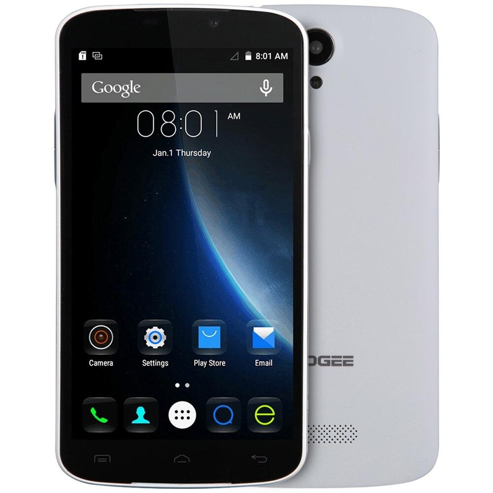 bilder für Doogee x6 pro 4g smartphone 5,5 zoll hd 1280x720 android 5.1 mtk6735 Quad-Core-Handy 2 GB + 16 GB Dual Kameras Smartphone
