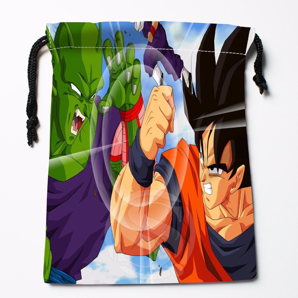 Fl-Q30 New Anime Dragon Ball Z #19 Custom Logo Printed  Receive Bag  Bag Compression Type Drawstring Bags Size 18X22cm 711-#F30