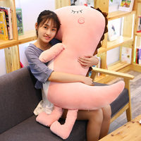 100cm Large size toy Dinosaur Plush Home Furnishing Stuffed Nap Pillow Decoration as a Gift to Children Soft Dinosaur Present