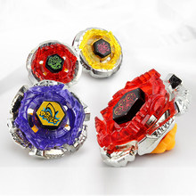 Фотография 4pcs/set Beyblade Burst Spinner 4.5CM Arena Metal Beyblade Top Toupie Fusion 4D Masters Launcher Spinning Top Toys Sale for Boys