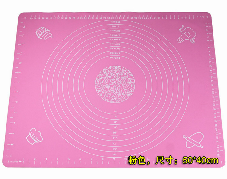 Tool Paste Kneading Chopping Board Flour Roll Noodles Pad Silica Gel Roast Stencil Moule Silicone