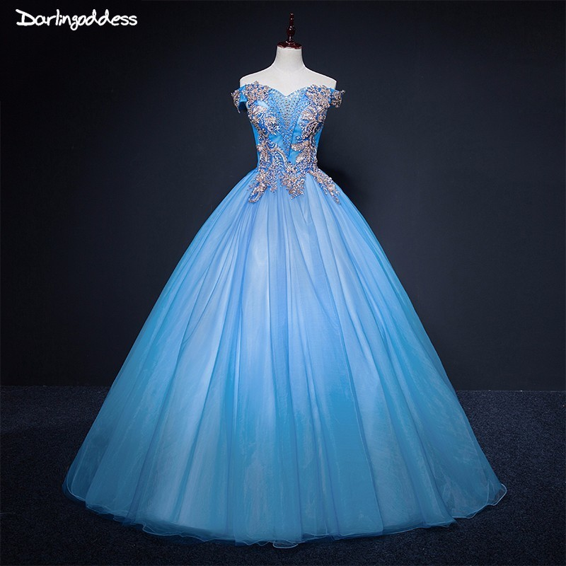 4a71aa0dcce Light Blue Quinceanera Dresses Ball Gown Sweet 16 Debutante Party Dress  Cheap Quinceanera Dresses 2018 vestido