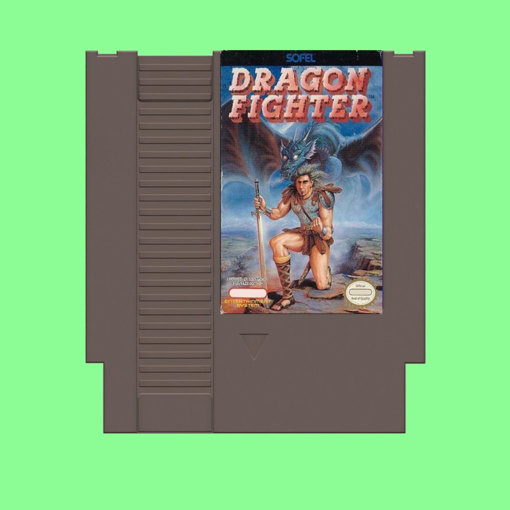 Best Sale Dragon Fighter Game Card For 72 Pin 8 Bit Game Player