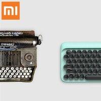 Xiaomi Mechanical Bluetooth 79Key Keyboard LED Backlit USB ports For Laptop Desktop Tablets computers Gaming Keyboard typewriter