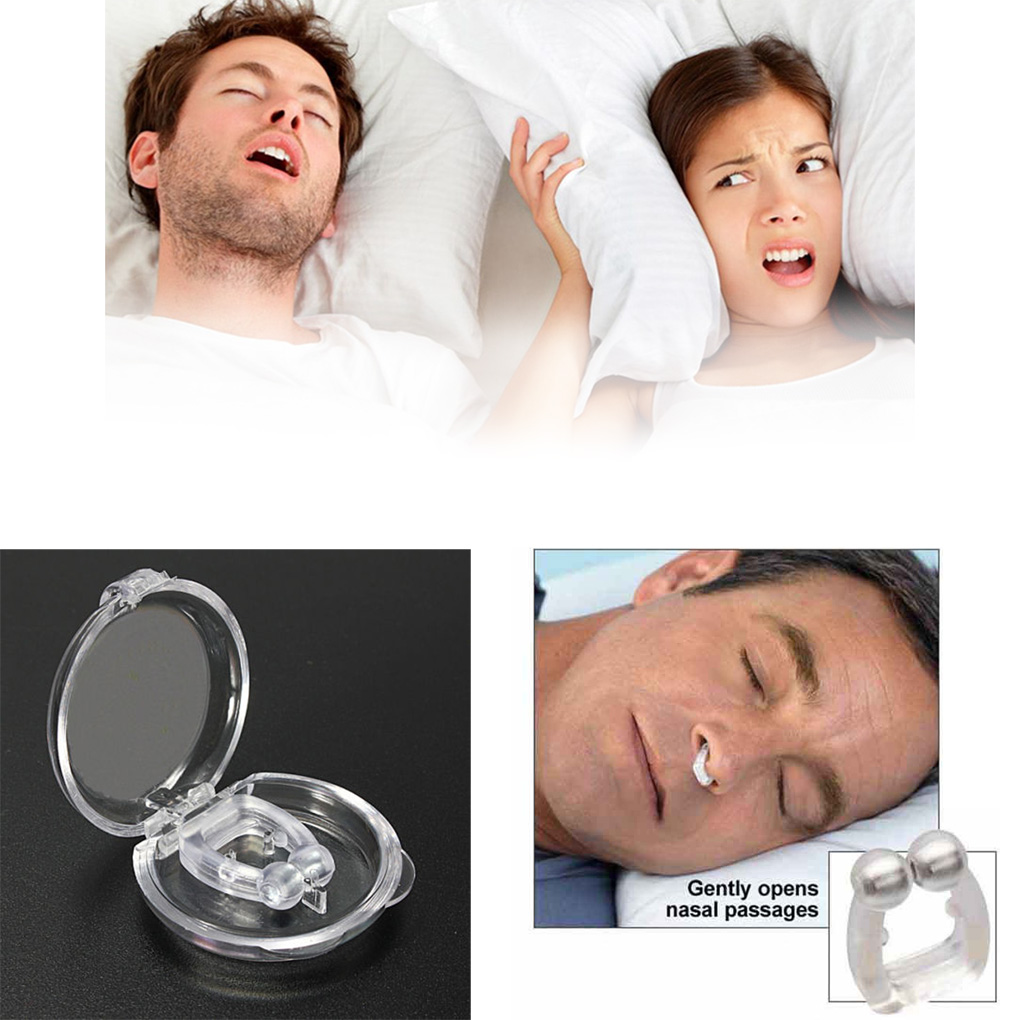 Semimesei 1PC Silicone Stop Snoring Anti Snore Mouthpiece Apnea Guard Sleeping Aid
